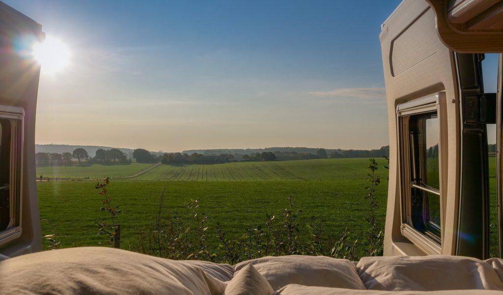 Nazomer met de camper in Nederland afbeelding